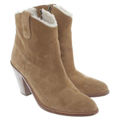 Saint Laurent Ankle boots suede