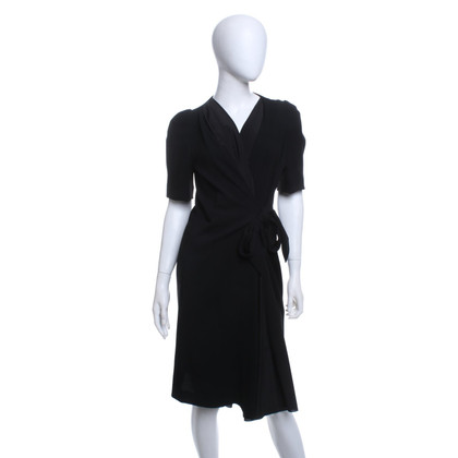 Sonia Rykiel Wrap dress in black