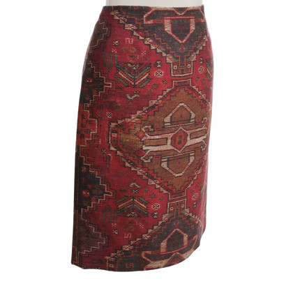 Tory Burch skirt with pattern