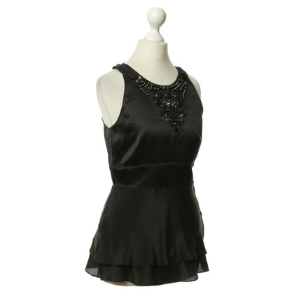 Karen Millen Zijden top in zwart