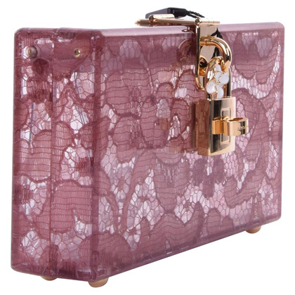 Dolce & Gabbana Clutch mit Spitze