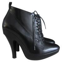 Burberry Prorsum Black ankle boots