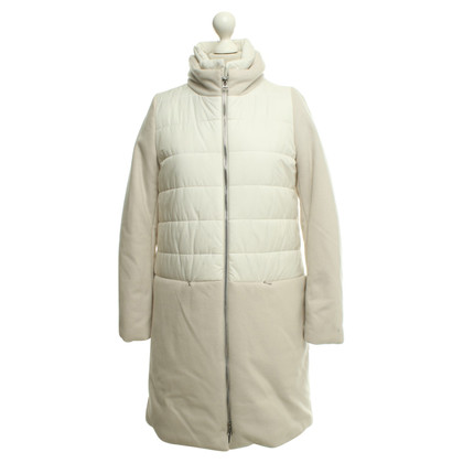 Cinque Down coat in white / cream