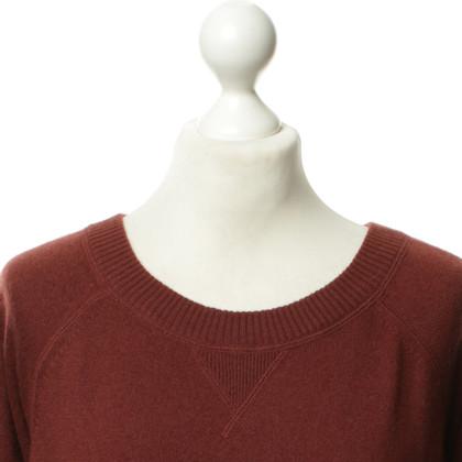 Schumacher Cashmere sweater in rust
