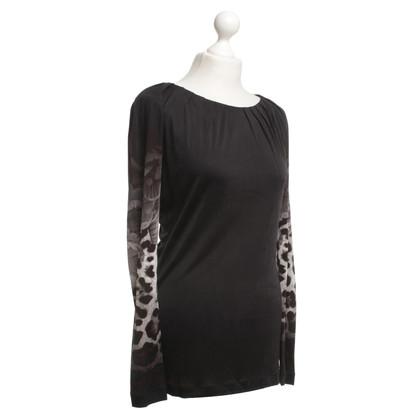 Roberto Cavalli Elegant shirt in black