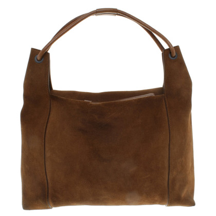 Gucci borsa della pelle scamosciata