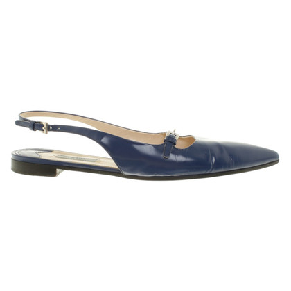 Prada Slingbacks in Royal Blue