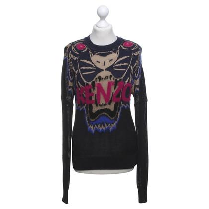 Kenzo Sweater in dark blue