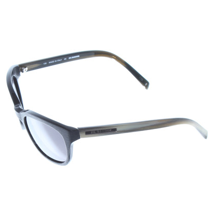 Jil Sander zwart zonnebril