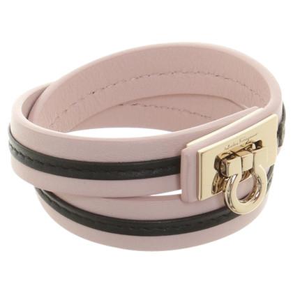 Salvatore Ferragamo Pelle avvolgere intorno al braccialetto