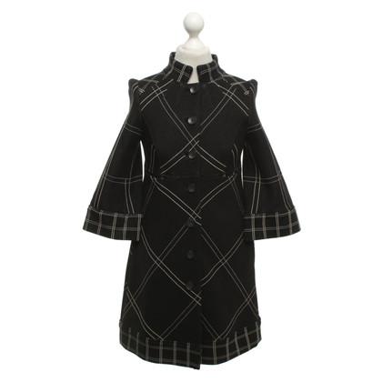 """Diane von Furstenberg Checked coat """"Siddell"""""""