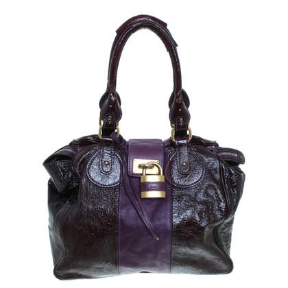 Chloé Handtasche aus Lackleder