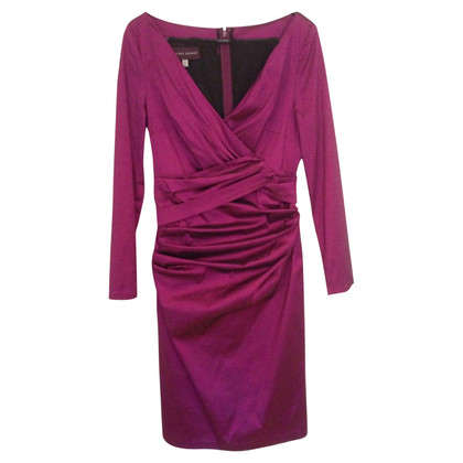 Talbot Runhof Dress in wrap look
