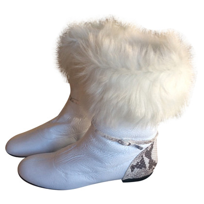 Giuseppe Zanotti Ankle boots with fur