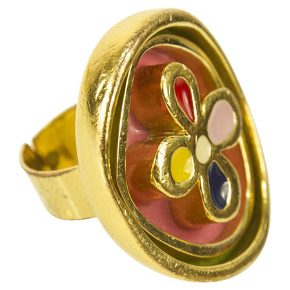Louis Vuitton Ring met bloem