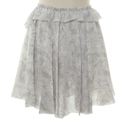 Band of Outsiders skirt with floral print