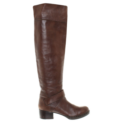 Costume National Brown knee boots