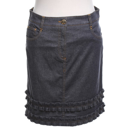 Moschino Denim skirt in blue