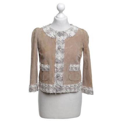 Dolce & Gabbana Short jacket in light brown