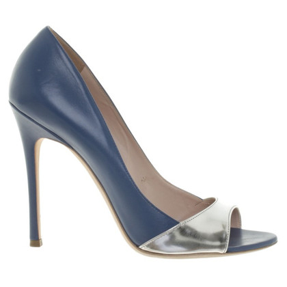 Miu Miu Peeptoes in blue