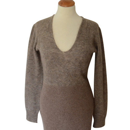 Maison Martin Margiela Strickkleid in Taupe
