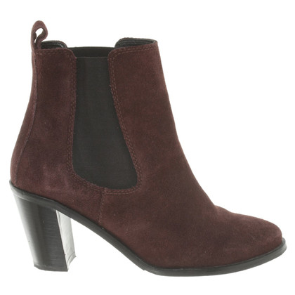 Boss Orange Ankle Boots in Bordeaux