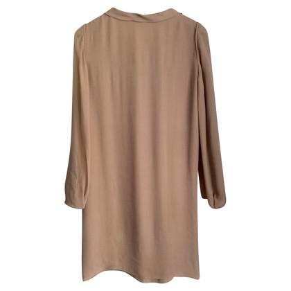 Vanessa Bruno zijden jurk in nude