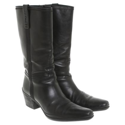 Prada Short boots in black