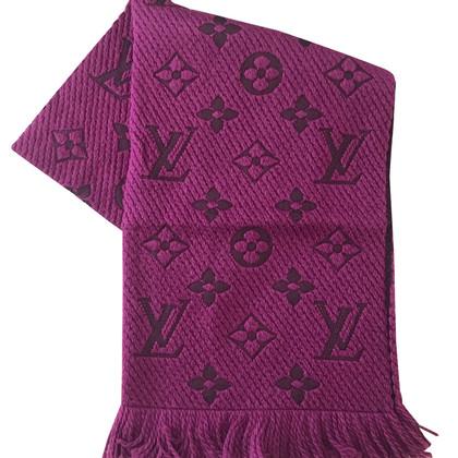 Louis Vuitton Logomania scarf in purple