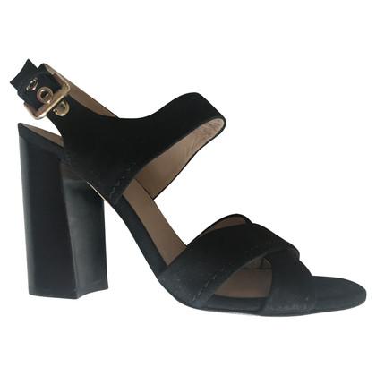 Pura Lopez Sandals in zwart