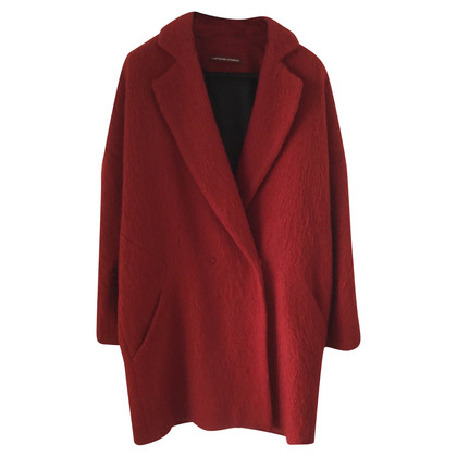 Comptoir des Cotonniers Wool red coat