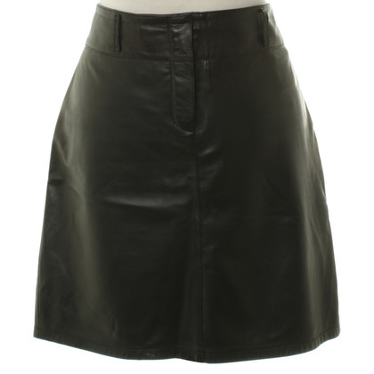 Marc Cain Leather mini skirt