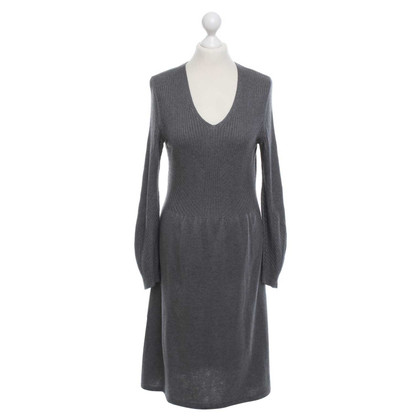 Hugo Boss Strickkleid in Grau