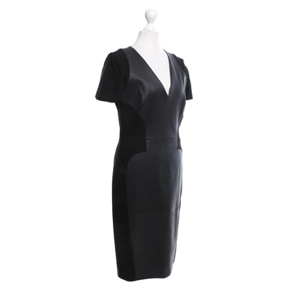 Emilio Pucci Black lambskin dress