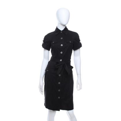 Diane von Furstenberg Hemdblusenkleid in Schwarz