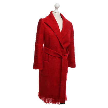 Escada Coat in red