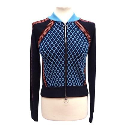 Versace Jacke mit eingestricktem Muster