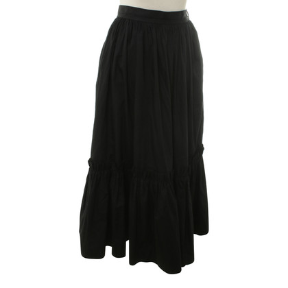 Yves Saint Laurent skirt with valance