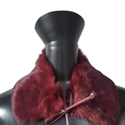 Prada Fur collar for tying