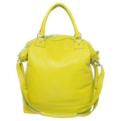 Diane von Furstenberg Tote bag in lime green