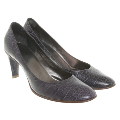 Armani pumps reptiel optica