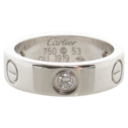 Cartier ''LOVE'' Ring mit Diamanten