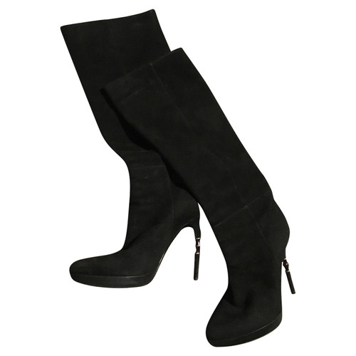 59f7ed08be9 Gucci Black boots - Second Hand Gucci Black boots buy used for 270 ...