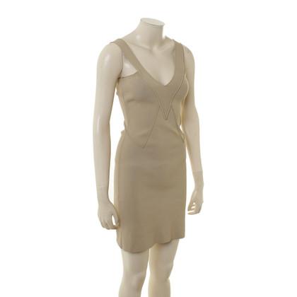 Givenchy Gebreide jurk in beige