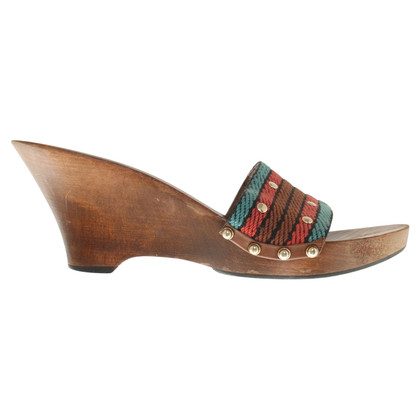 Gucci Mules with wooden sole
