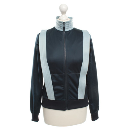 Ganni Sporty jacket in blue