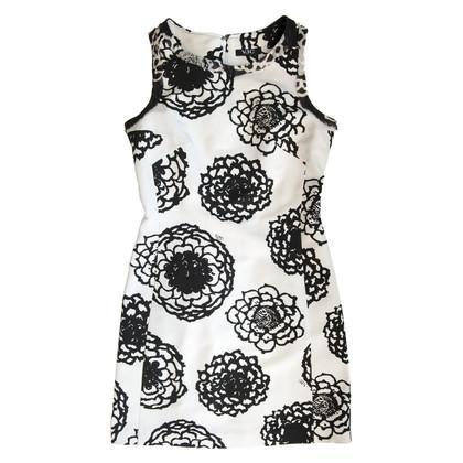 Versace Jurk in zwart / wit