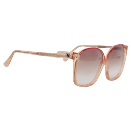 Jourdan Glitter occhiali da sole rossi