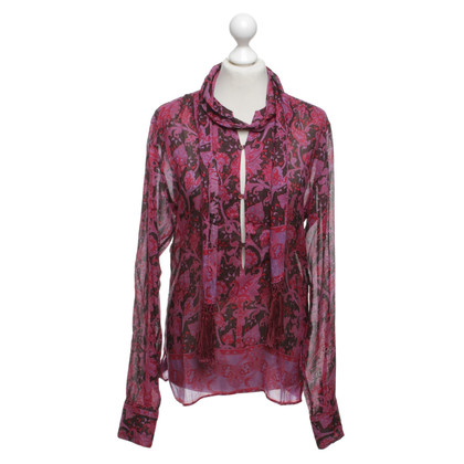 Gucci Silk blouse with pattern