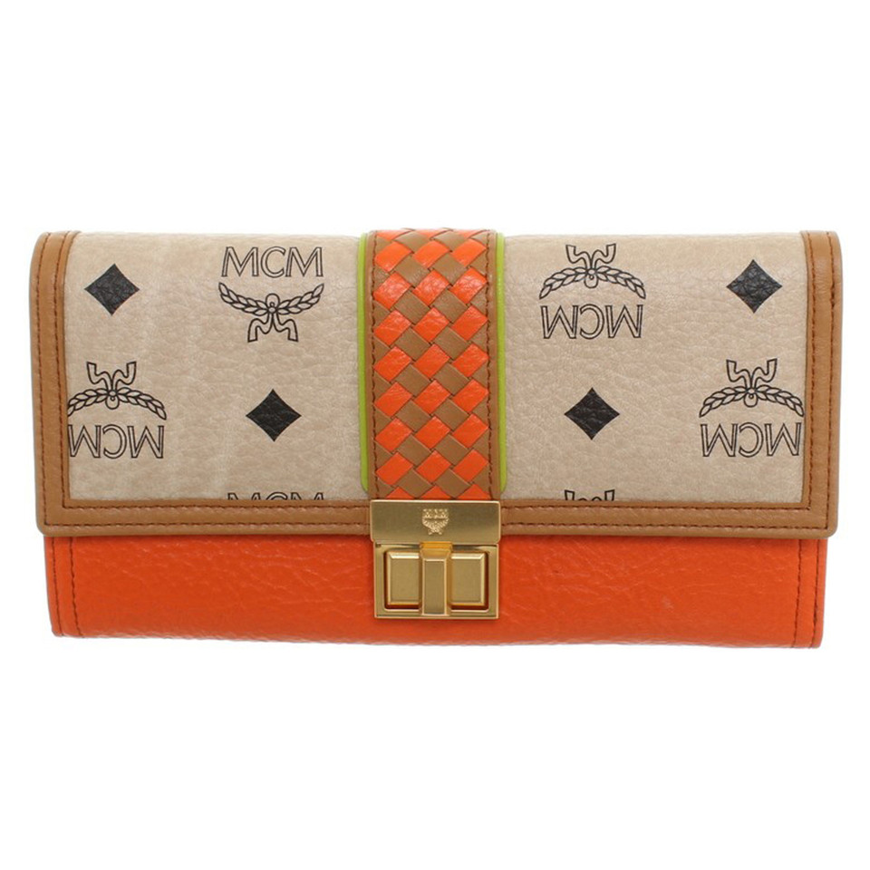 MCM Wallet in Multicolor